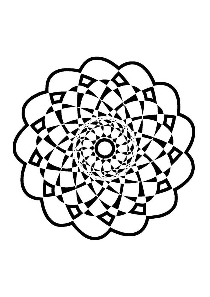 mandala-para-colorir-figura de mandala