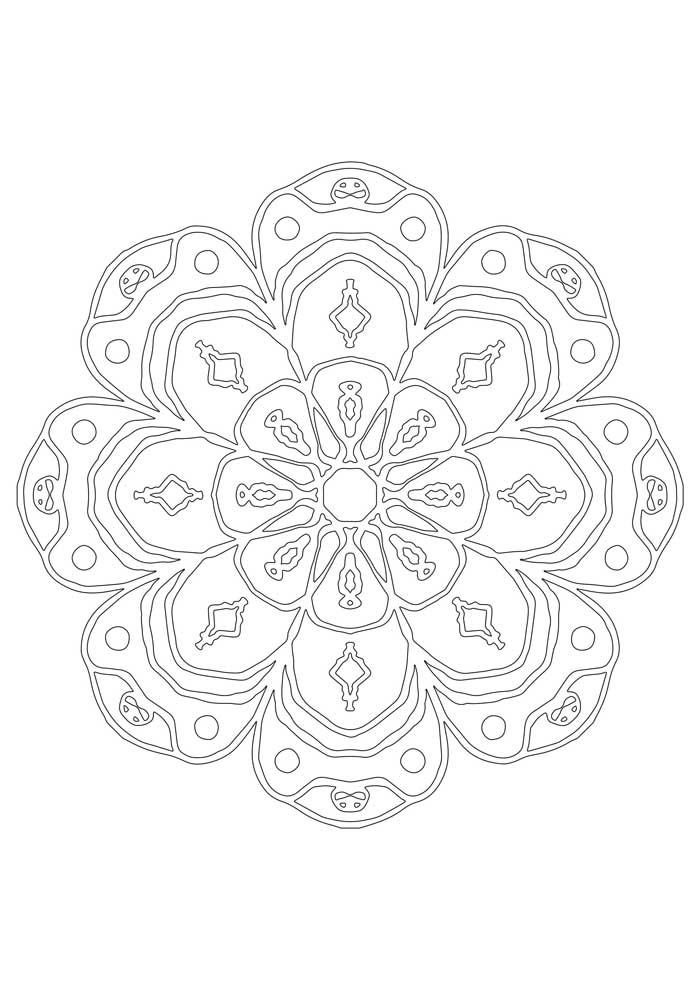 mandala-para-colorir-flor coracao