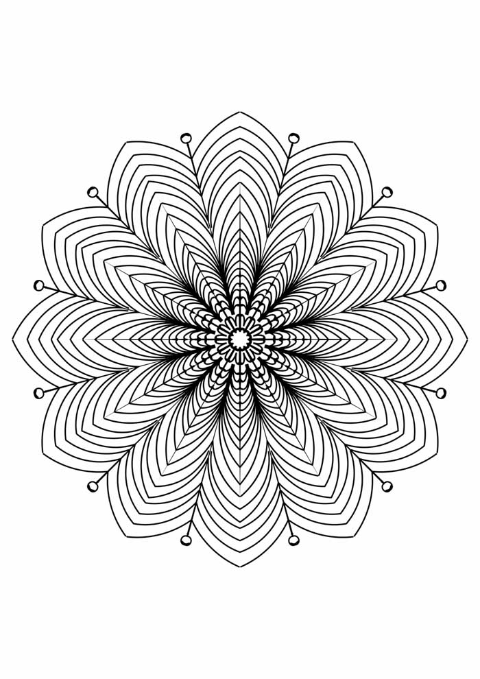 mandala-para-colorir-flor