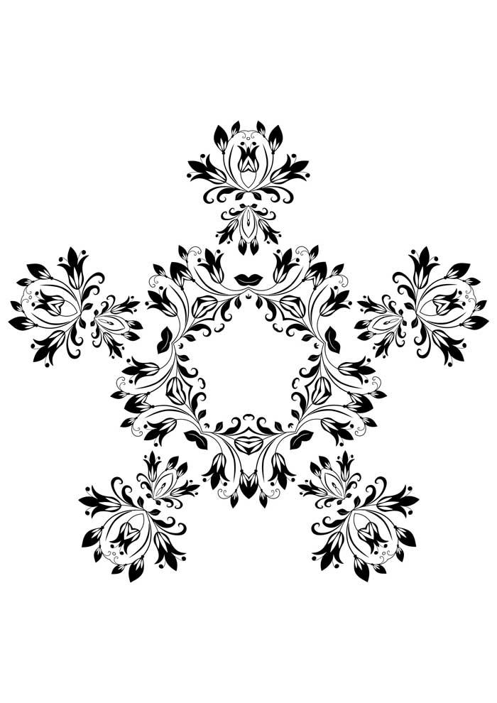 mandala-para-colorir-floral