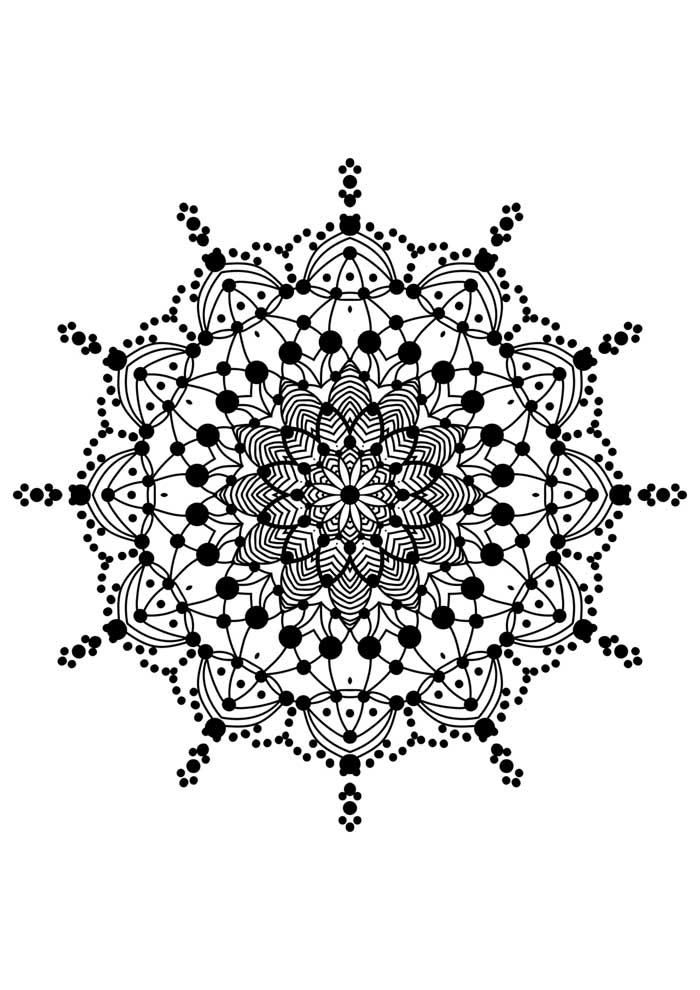 mandala-para-colorir-flores