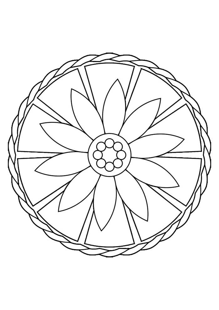 mandala-para-colorir-forma-simples