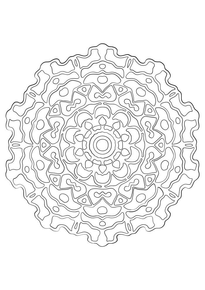 mandala-para-colorir-geometrica