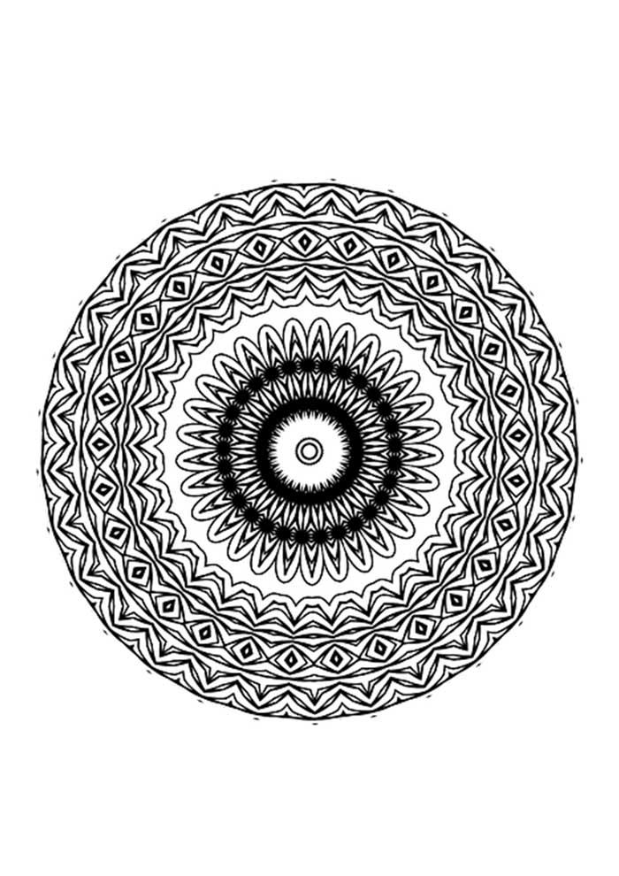mandala-para-colorir-olho grego