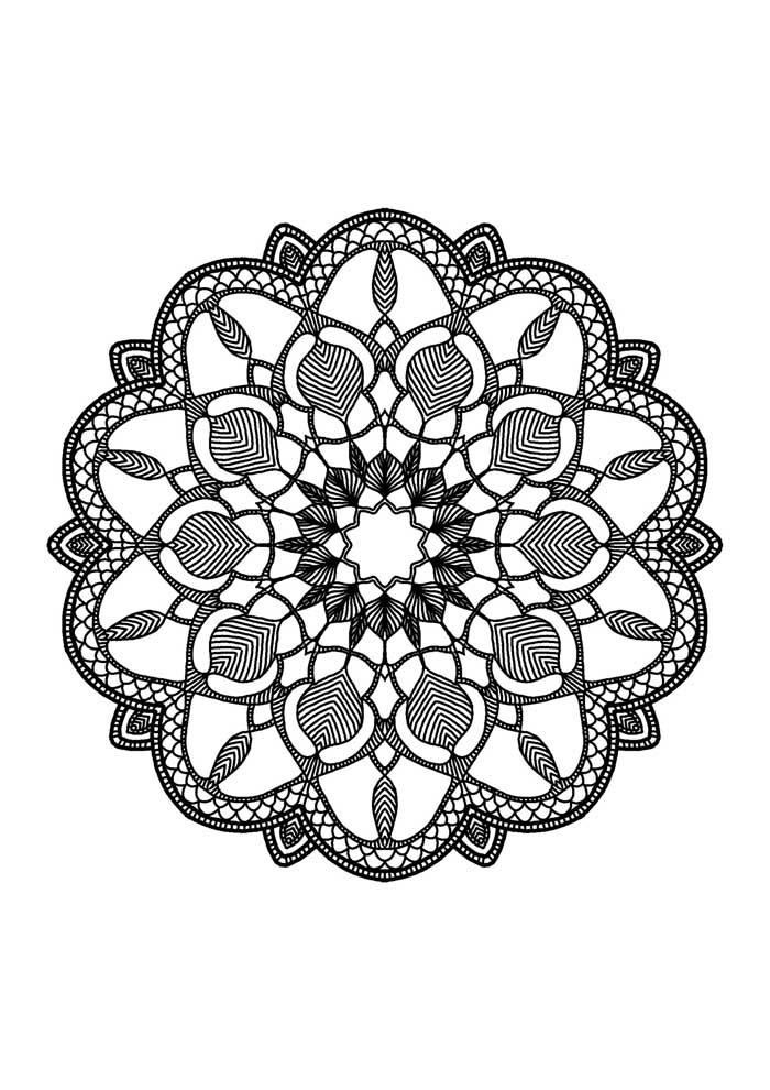 mandala-para-colorir-petalas