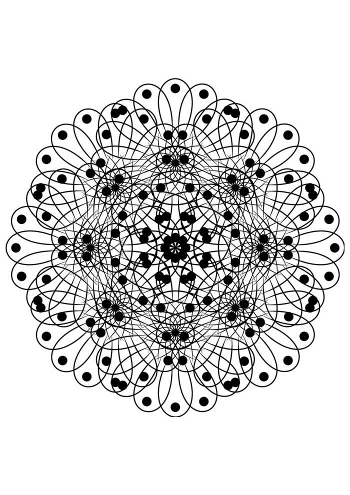 mandala-para-colorir-pontos