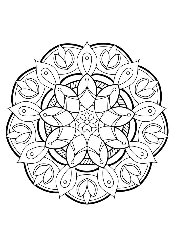 mandala-para-colorir-primavera