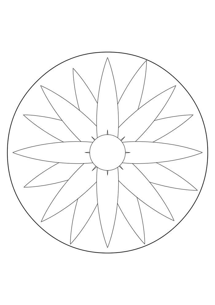 mandala-para-colorir-simples