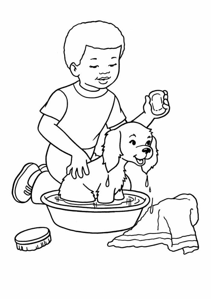 menino-dando-banho-cachorro-para-colorir