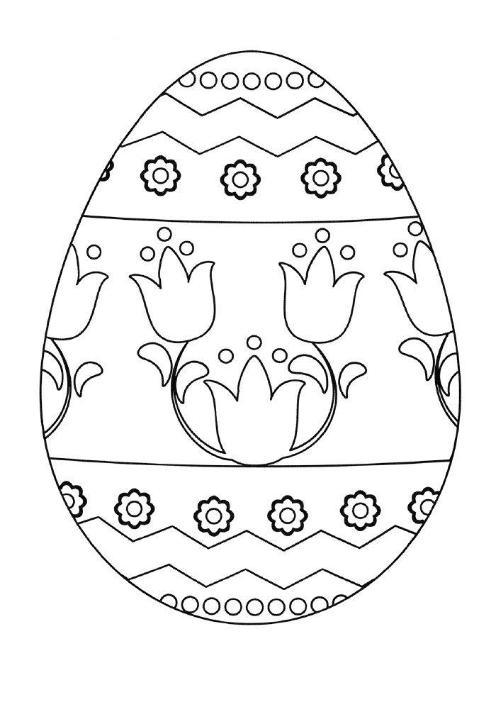 ovo-de-pascoa-para-colorir-florido