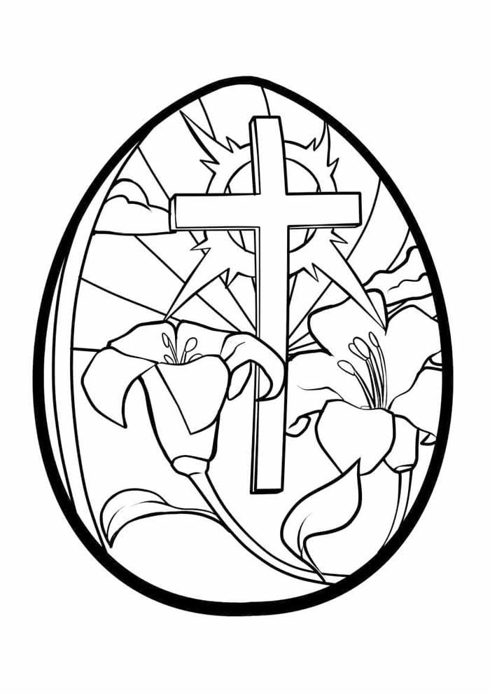 ovo de páscoa religioso