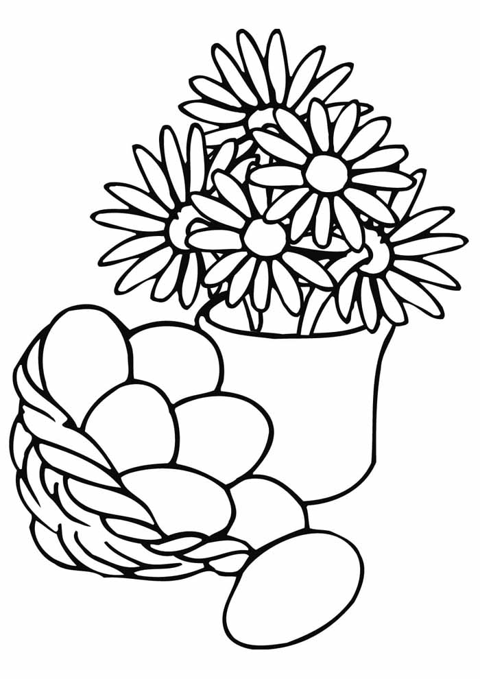 ovos de páscoa para colorir 2