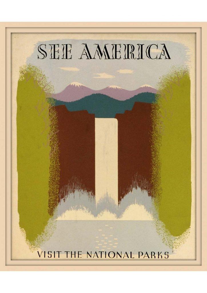 poster para imprimir América