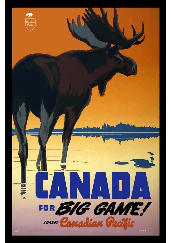 poster para imprimir Canada