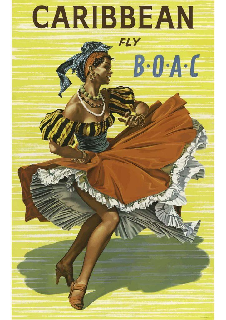 poster para imprimir Caribe