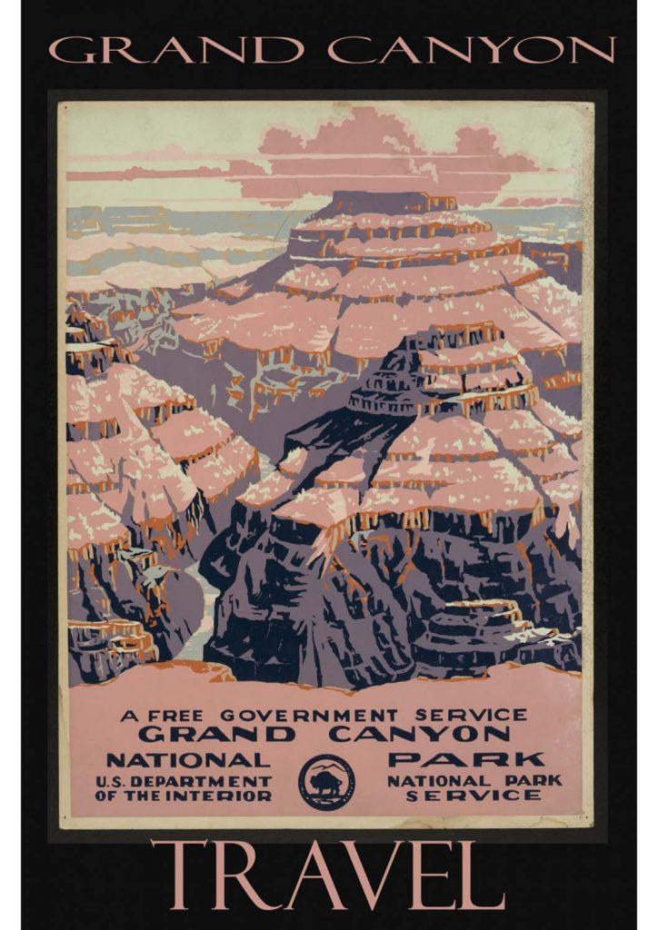 poster para imprimir Grand Canyon