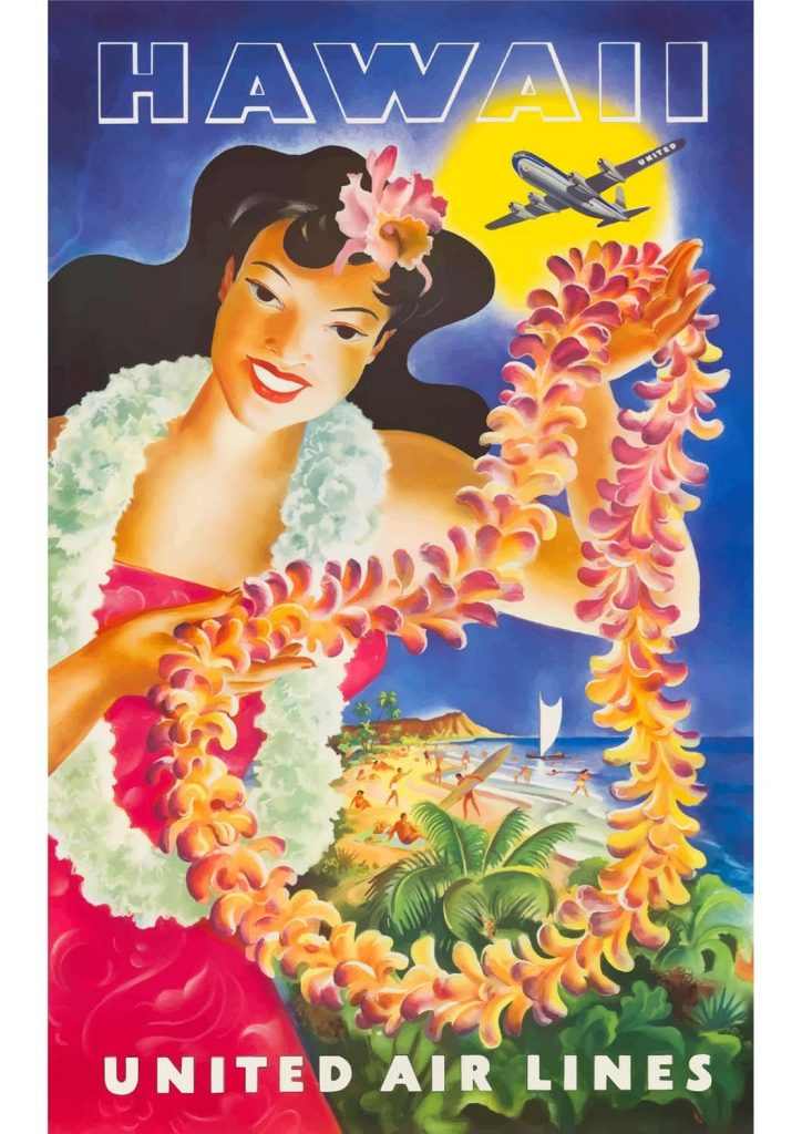 poster para imprimir Havaí