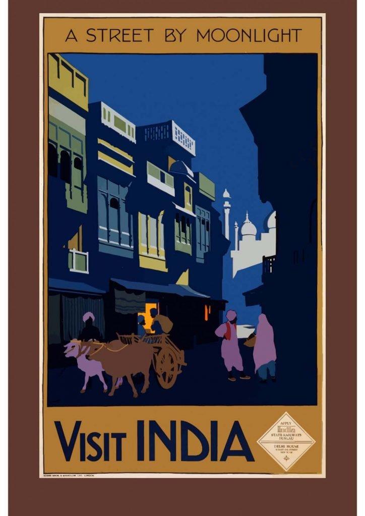 poster para imprimir Índia