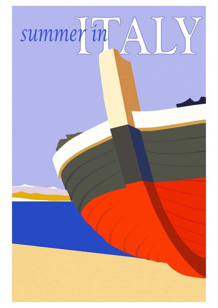 poster para imprimir Itália