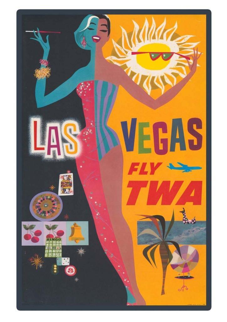 poster para imprimir Las Vegas