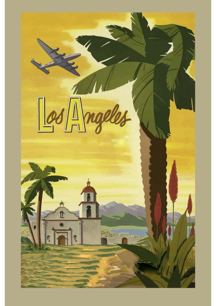poster para imprimir Los Angeles