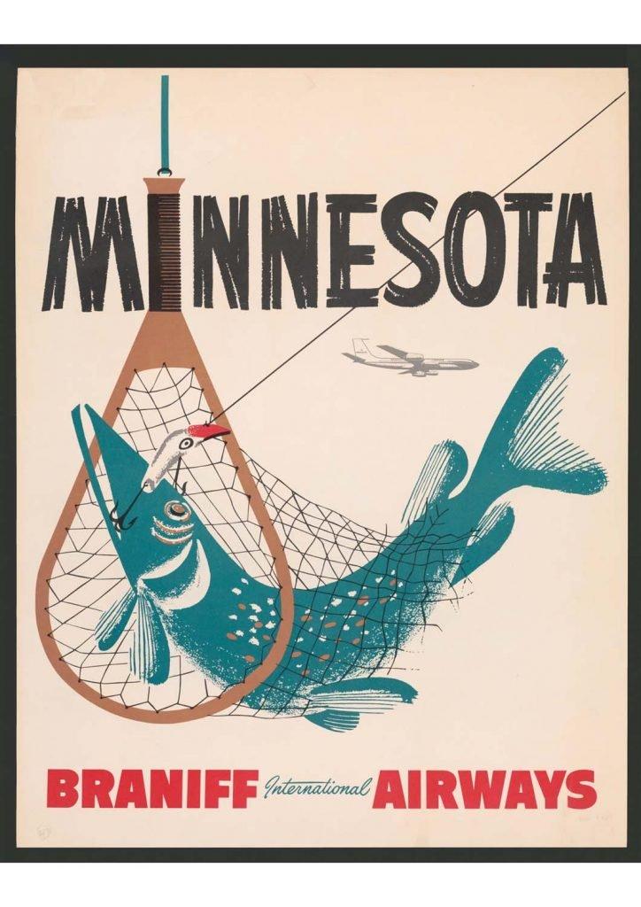 poster para imprimir Minesota