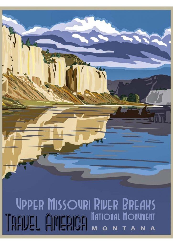 poster para imprimir Missouri