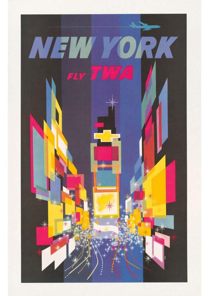 poster para imprimir modern Nova York