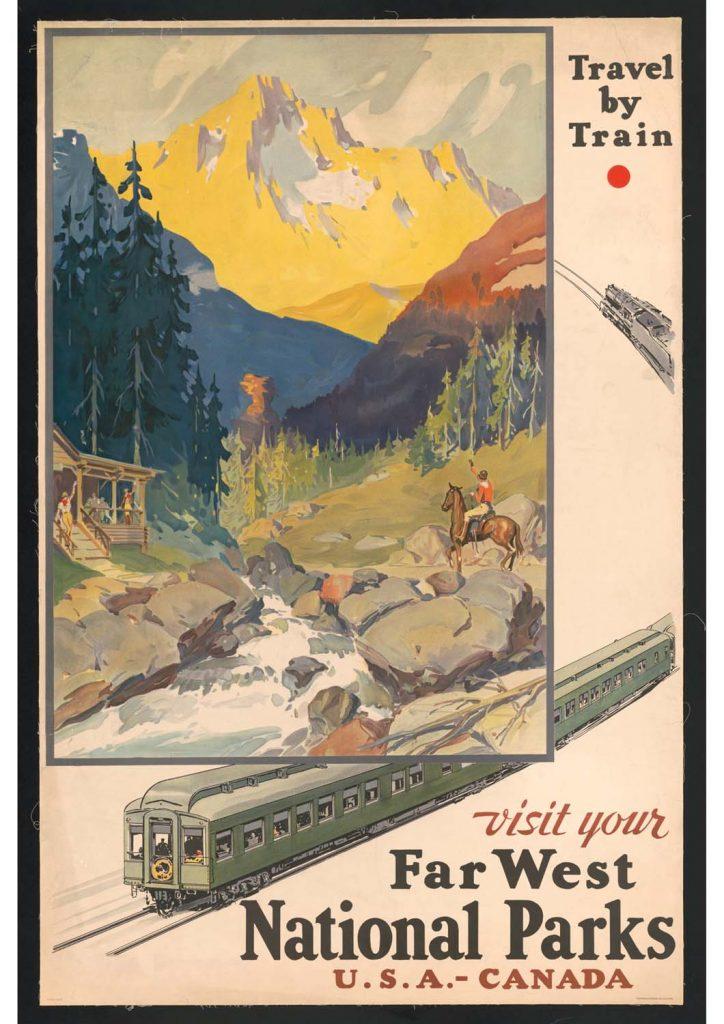 poster para imprimir national parks Canada