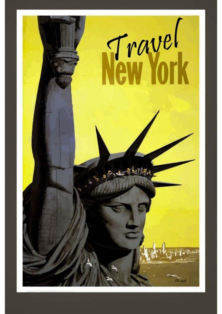 poster para imprimir Nova York