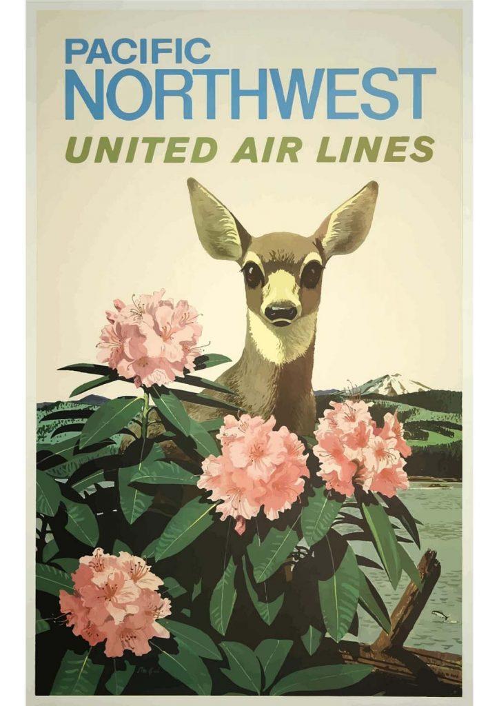 poster para imprimir Pacífico