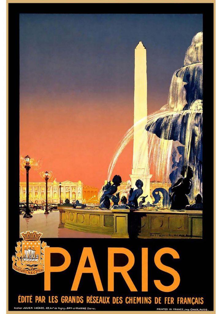 poster para imprimir Paris