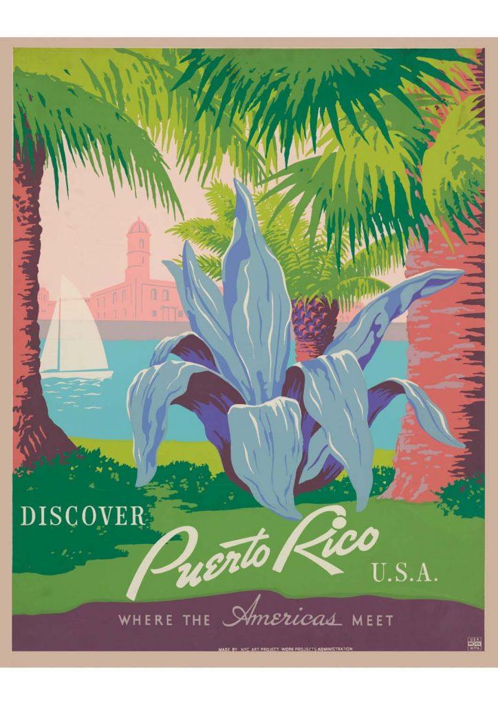 poster para imprimir Porto Rico