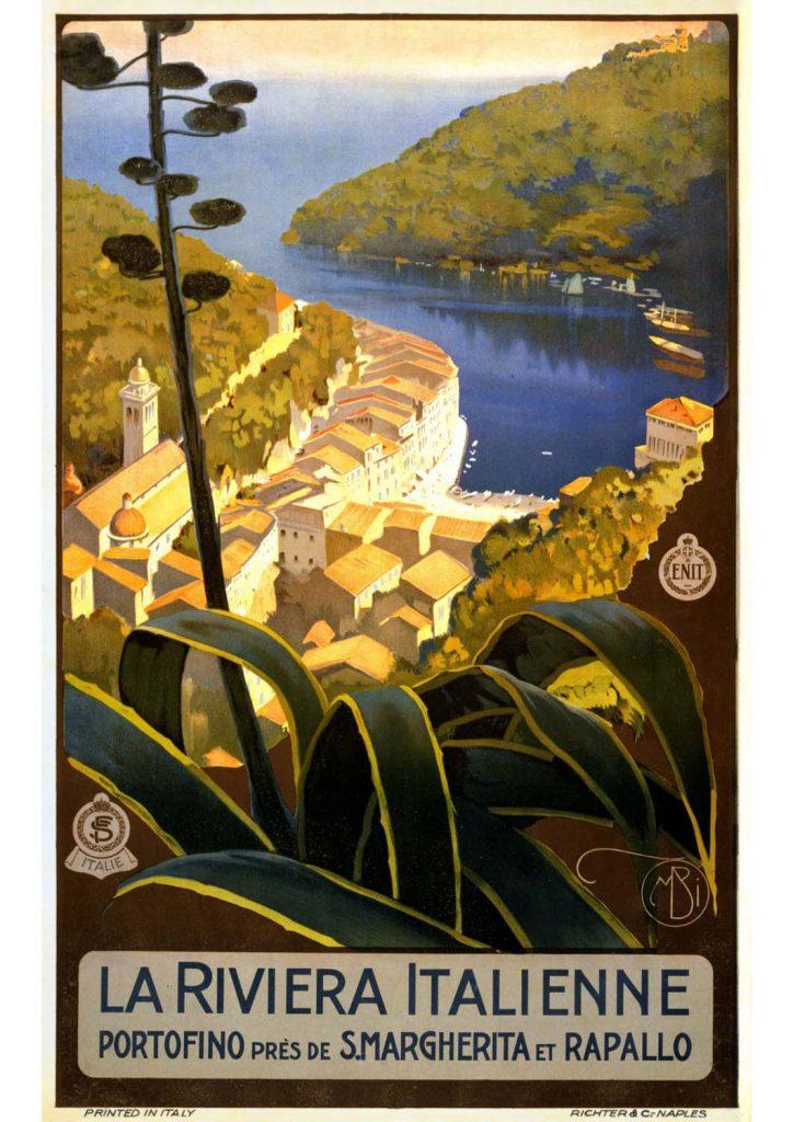 poster para imprimir Riviera Italiana