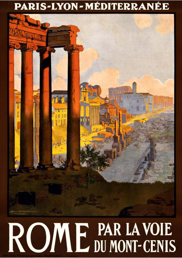poster para imprimir Roma Itália