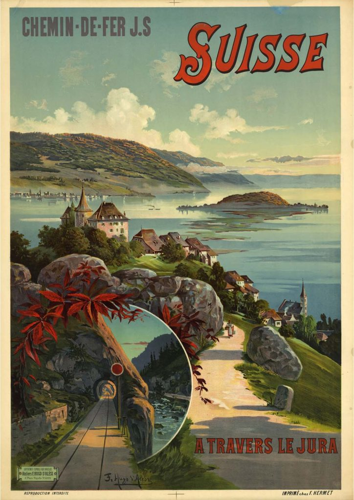 poster para imprimir Suíça