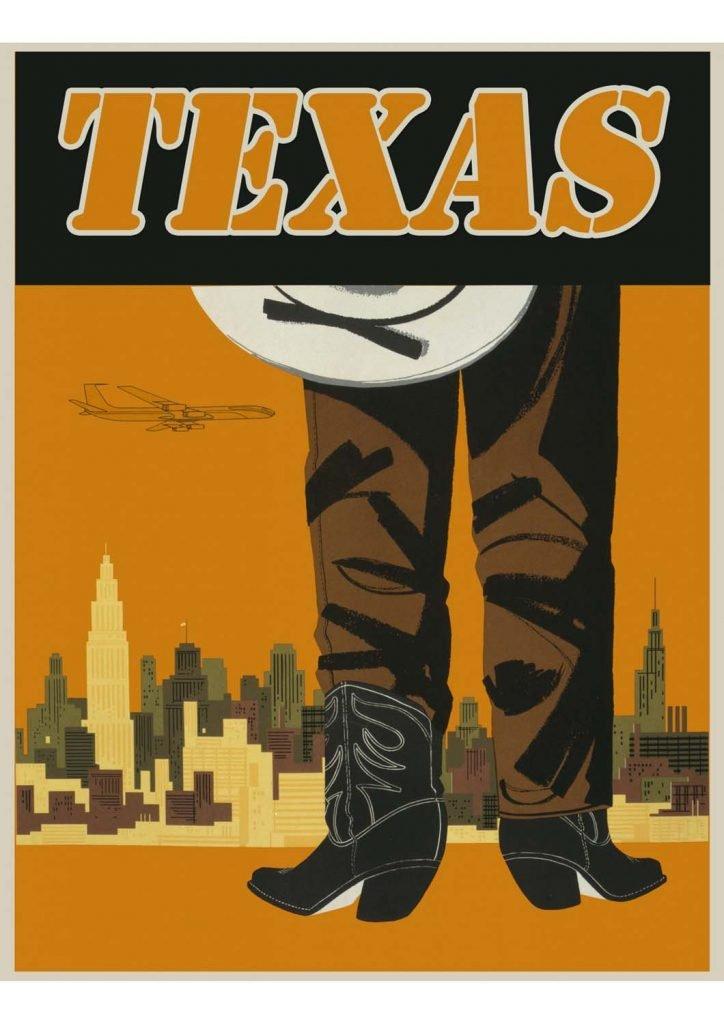 poster para imprimir Texas