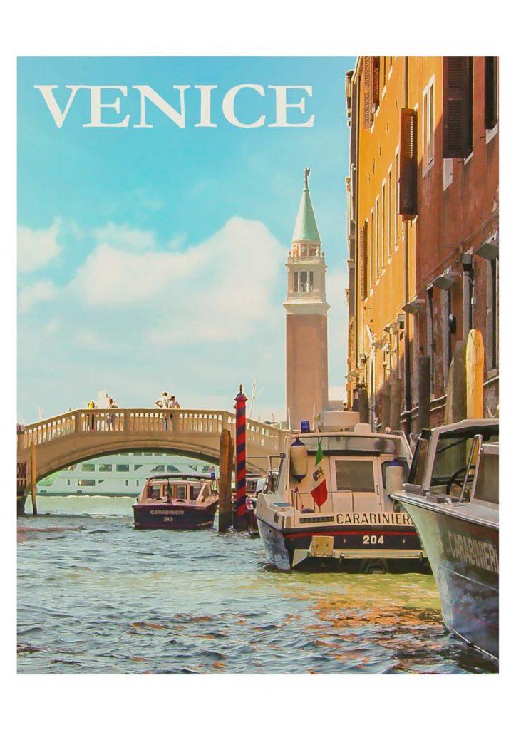 poster para imprimir Veneza