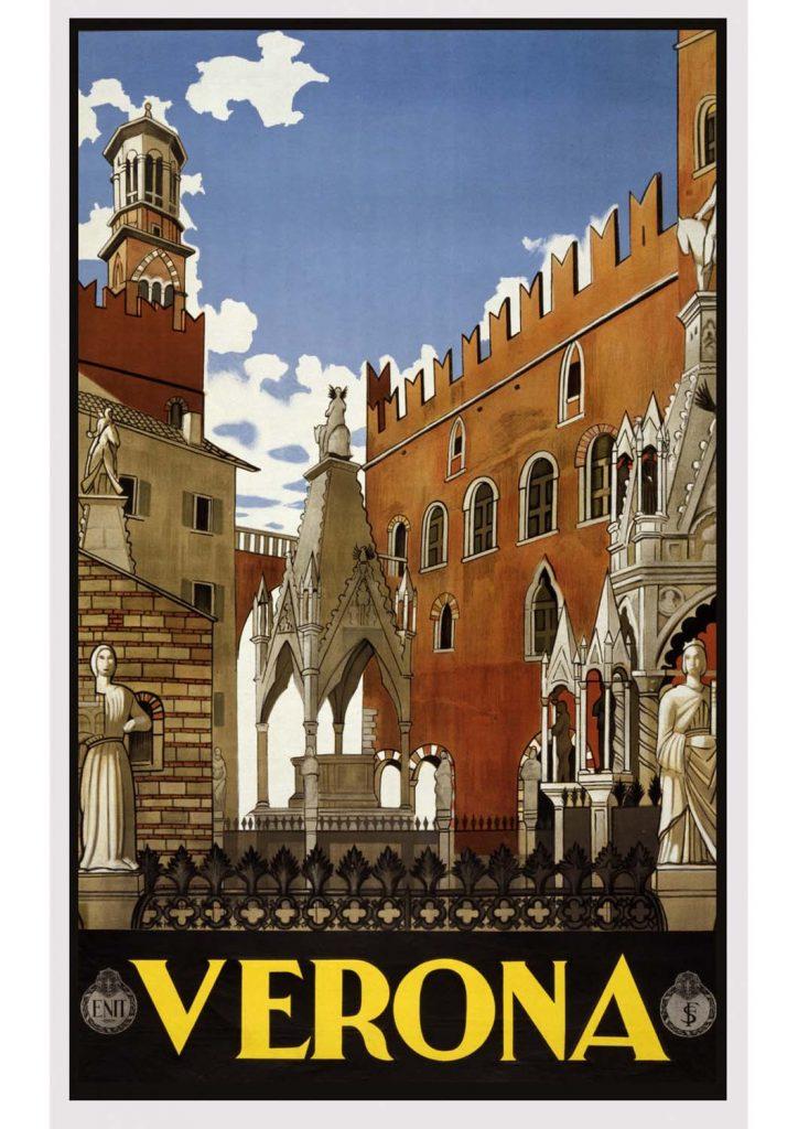 poster para imprimir Verona Itália