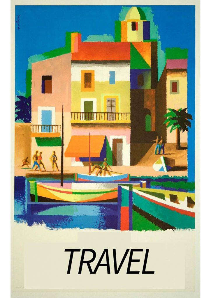 poster para imprimir viagem