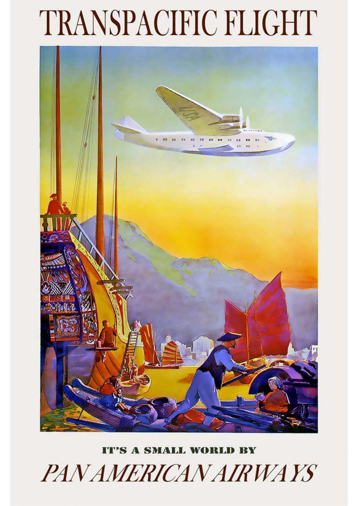 poster para imprimir viagem mundo