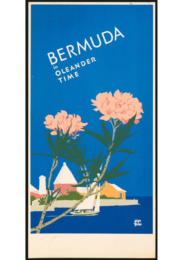 poster para imprimir vintage Bermuda