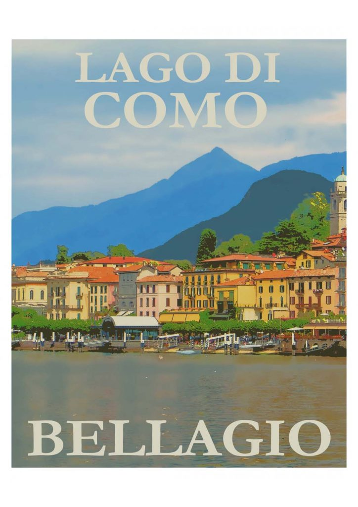 poster para imprimir vintage Itália
