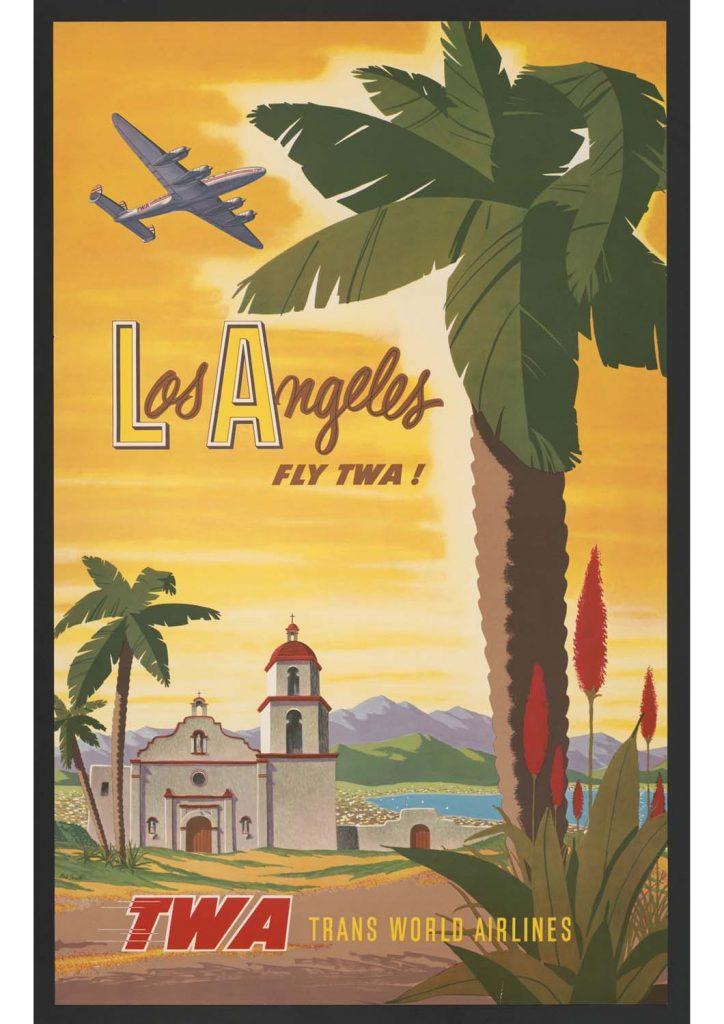 poster para imprimir vintage Los Angeles