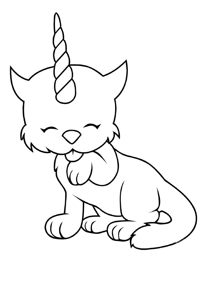 unicornio-gato-para-colorir