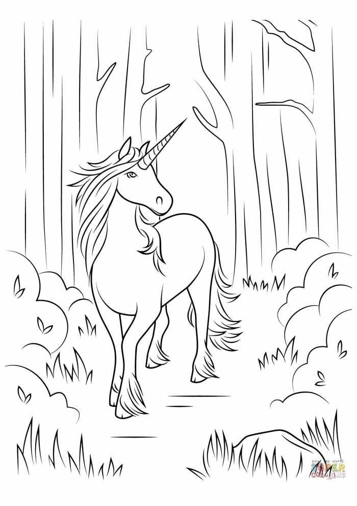 unicornio para colorir 10