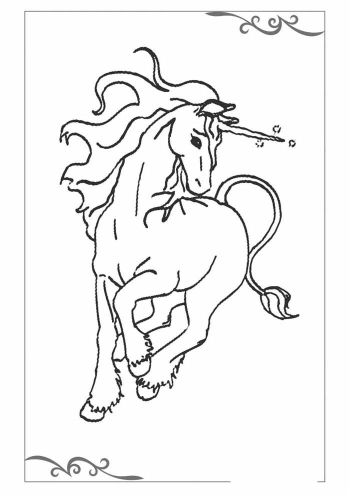 unicornio para colorir 11