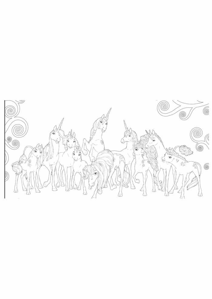 unicornio para colorir 13