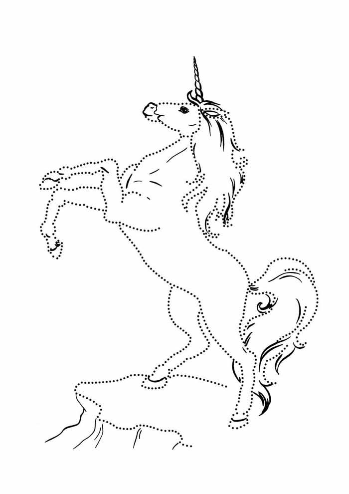 unicornio para colorir 14
