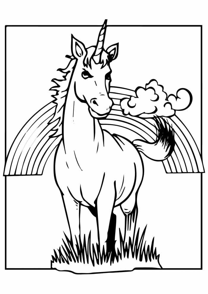 unicornio para colorir 15